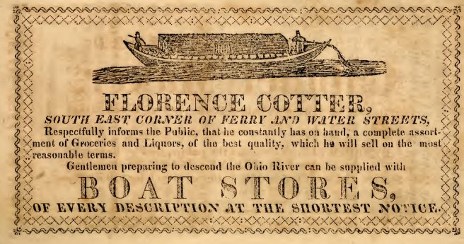 1819-advertisement-florence-cotter-groceries