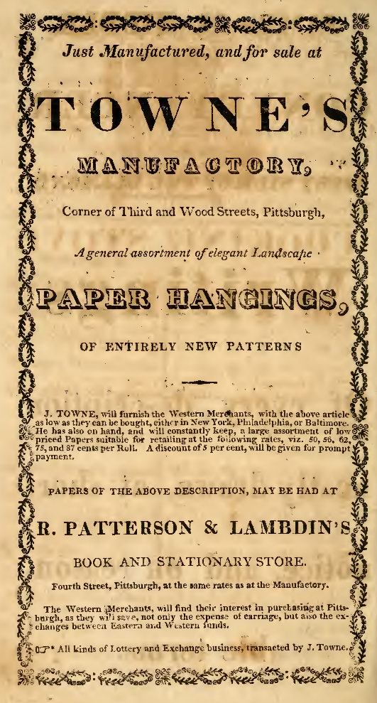 1819-advertisement-towne-s-paper-hangings
