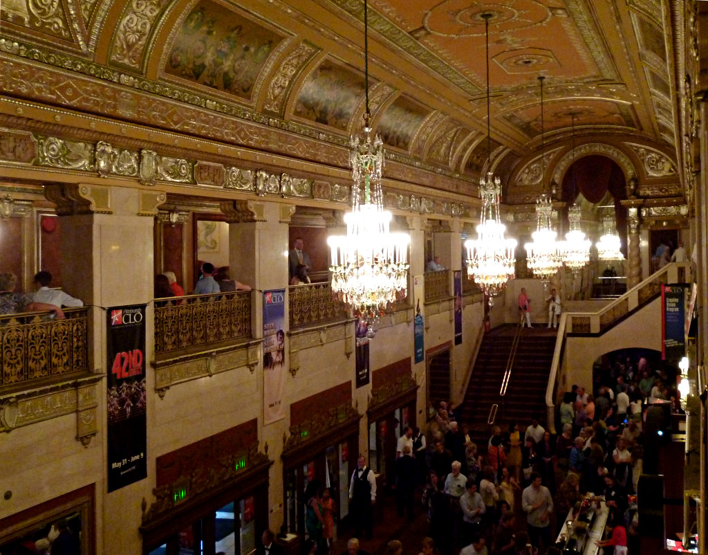 Lobby Of The Benedum Center Father Pitt