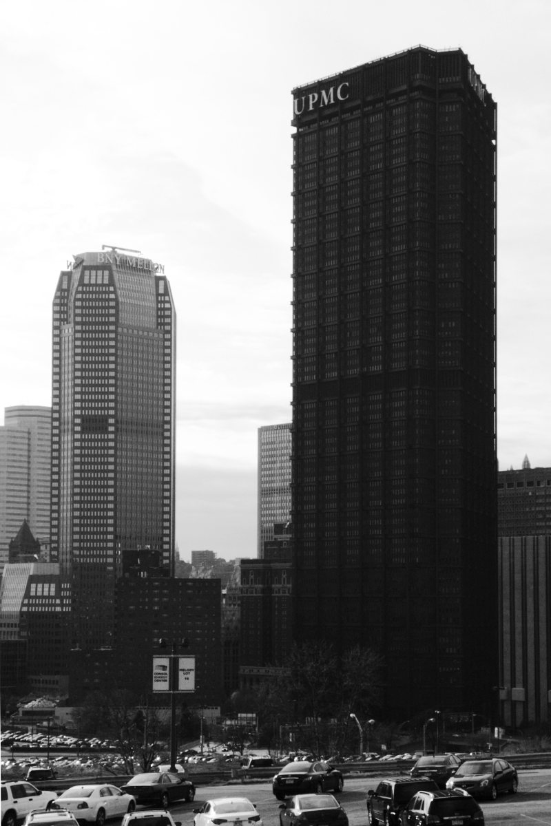 U S Steel Tower And Bny Mellon Center Father Pitt