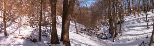 Snow Panorama 2015-02-20, 01
